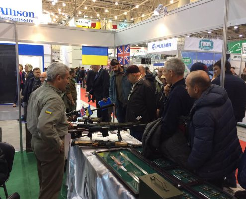 Stiletto Systems at Arms and Security 2016